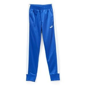 NWT Boys PUMA Sodalite blue leg stripe sweats, M